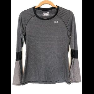 Under Armor striped athletic shirt